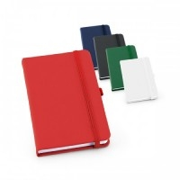 Caderno Couro Sint. c/ 80 Folhas - 140 x 210 mm