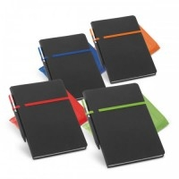 Caderno Couro Sint. c/ 96 Folhas - 185 x 240 mm
