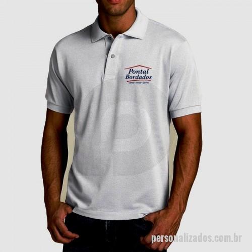 6608d4cca Camisa polo Personalizada - CP01 - Camiseta polo Bordado ou silk ...
