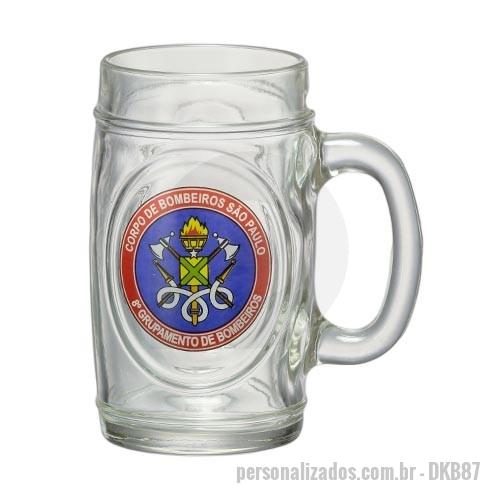 15855f982 Caneca porcelana ou cerâmica ou vidro personalizada - Caneca de Chopp Fritz  475ml
