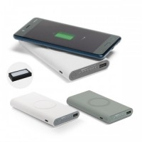 Power Bank Plástico 11.000 mAh - Wireless
