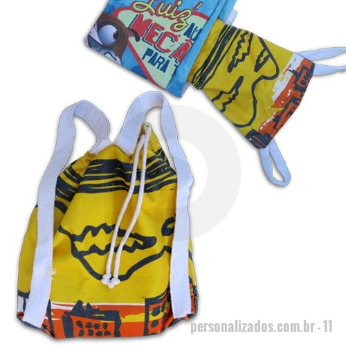 fa0519218 Toalha Mochila Personalizada - Produtos Personalizados - Toalha Mochila